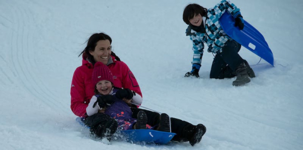 North Grenville's Ferguson Forest Centre Toboggan Hill Opened